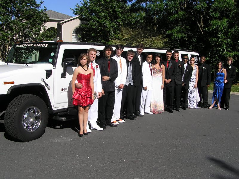 Prom Limo Charlotte NC SilverFox Limos - Hummer limos for prom