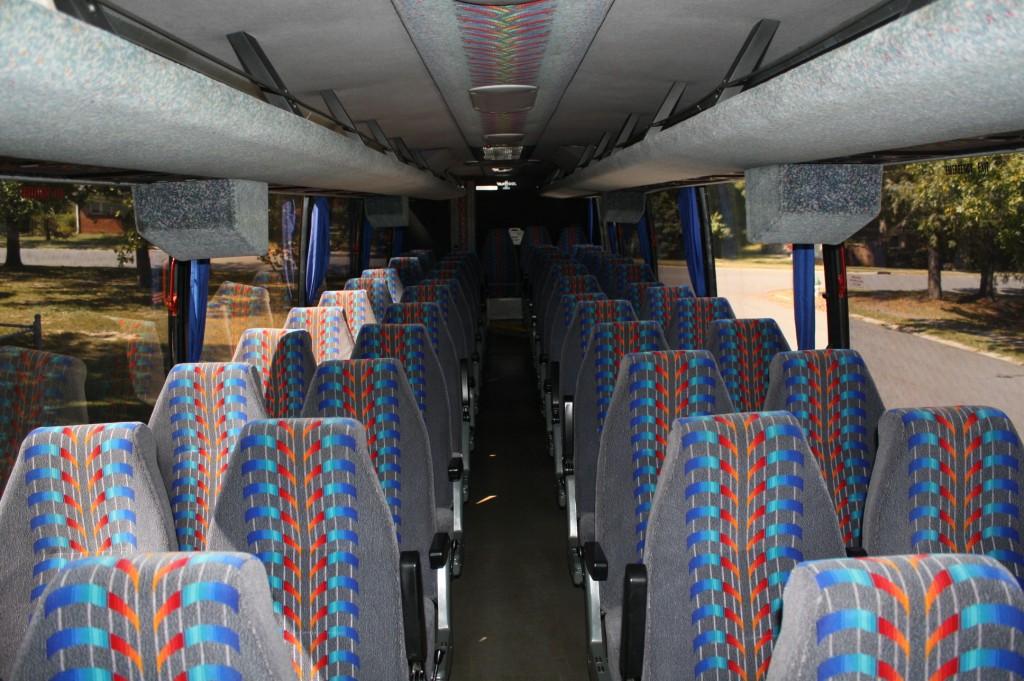 57 Pax Motor Coach Interior