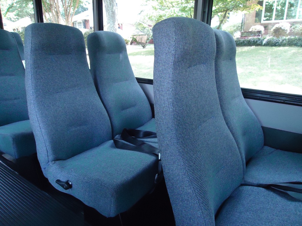 Mini Bus Interior 2