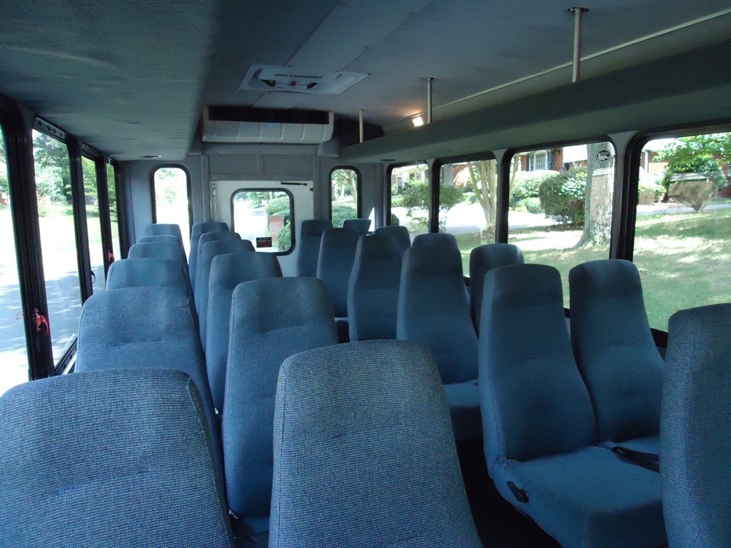 Mini Bus Interior