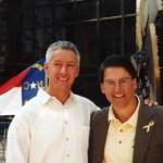NC Governor Pat McCroy