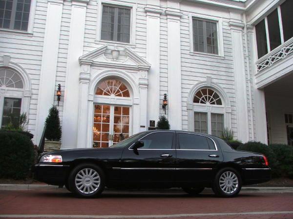 4 Passenger Lincoln Town Car