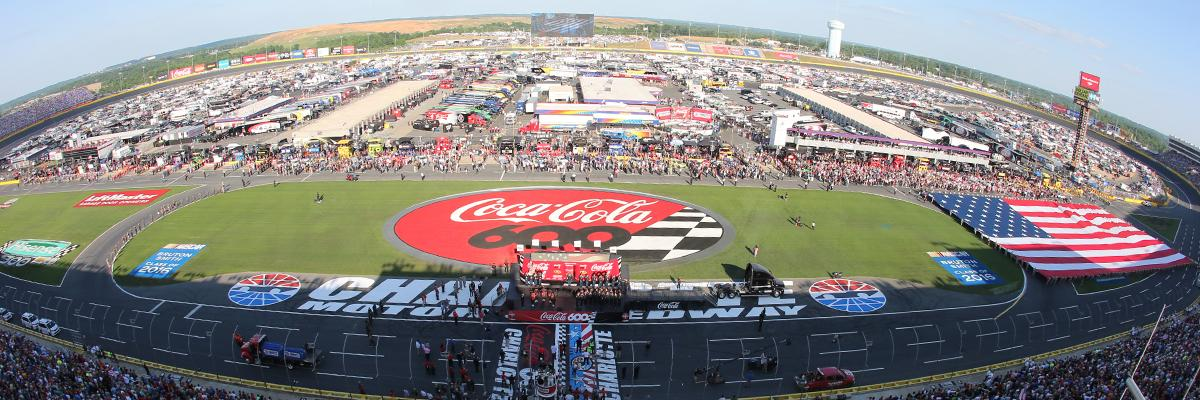 Coca cola 600 transportation charlotte silverfox limos for Charlotte motor speedway pictures
