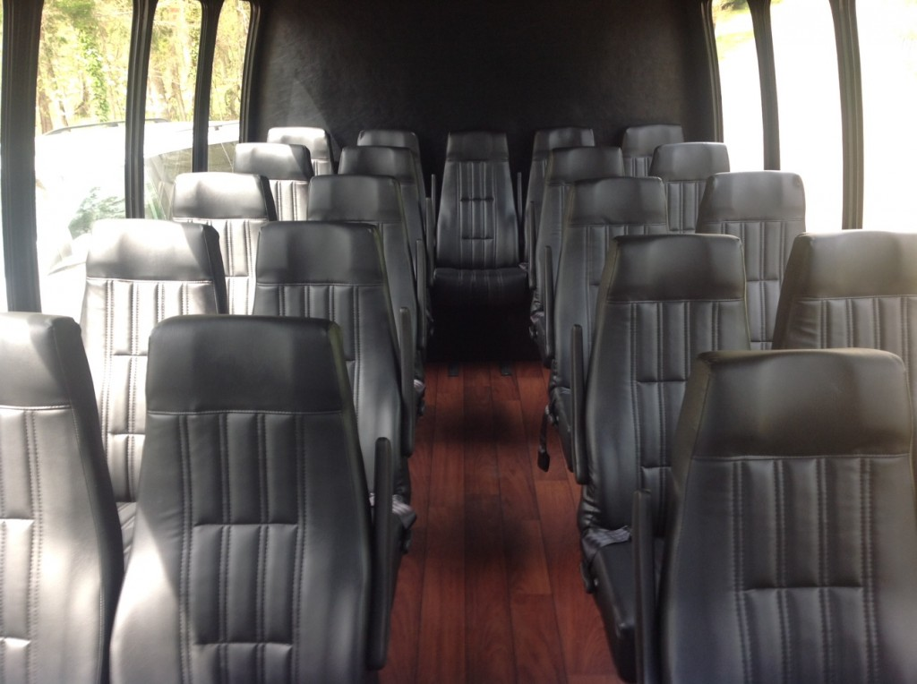 24 Passenger Mini Bus Interior