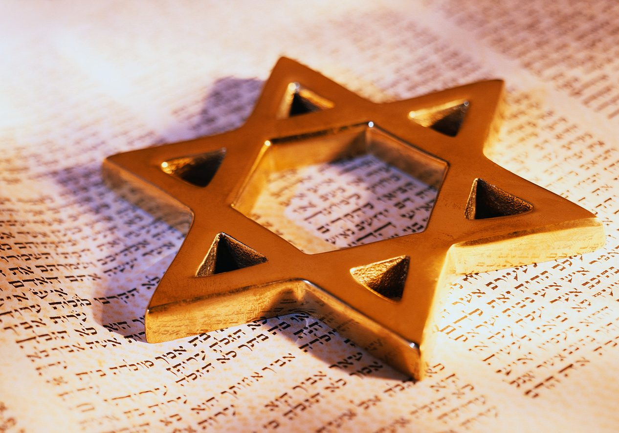David's Star on Torah ca. 2001