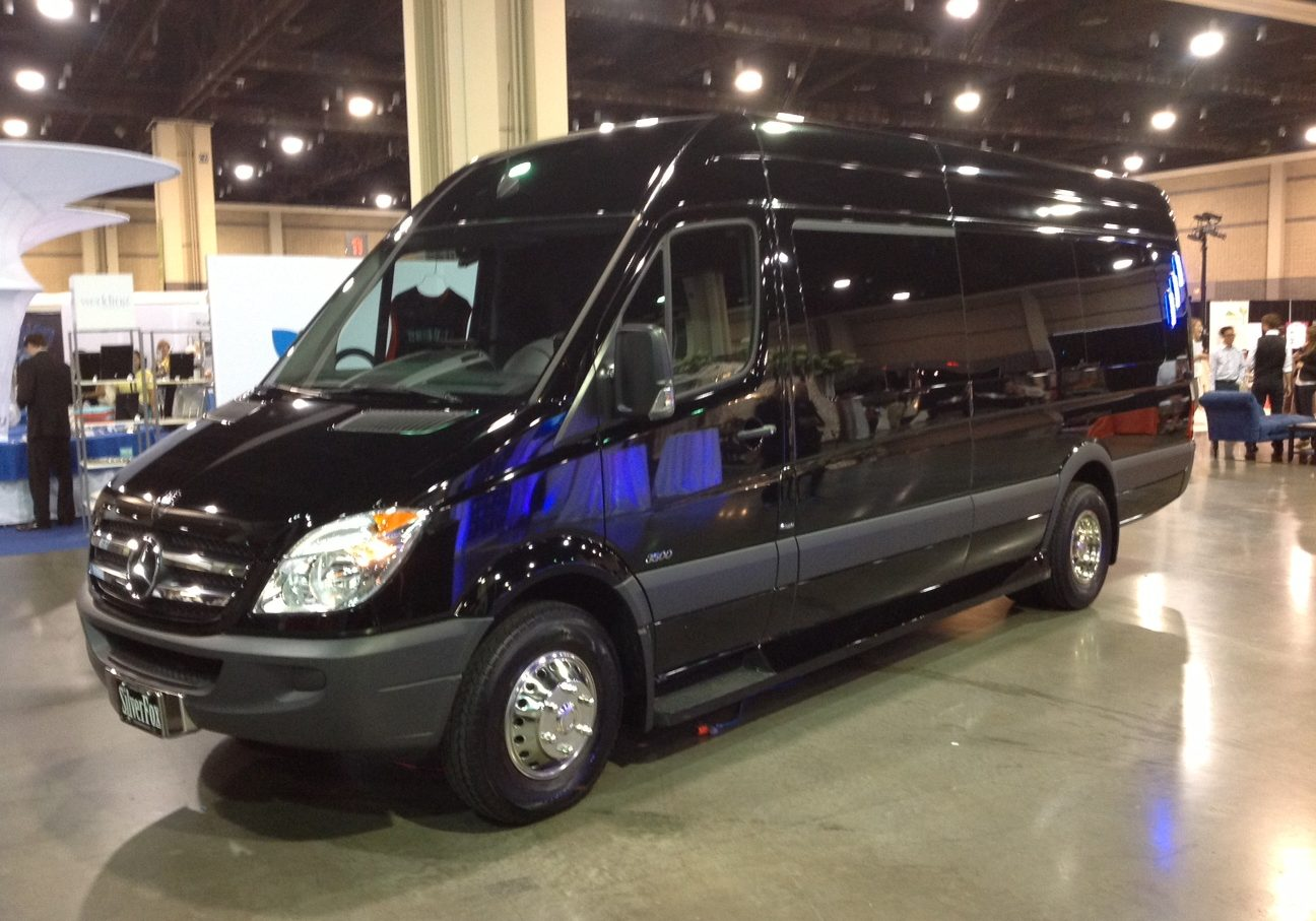 12 Passenger 2013 Mercedes Party Bus